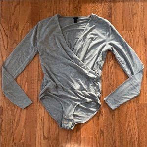 J Crew Wrap Bodysuit